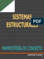 Sistemas Estructurales en Muros