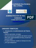 capitulo 1 Administaración del talento humano