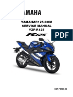 Yamaha Yzf r125 Service Manual (1)