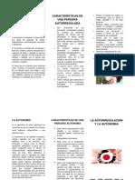 La autorregulacion - folleto