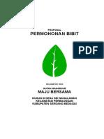 Proposal Kelompok Tani Hutan Mangrove