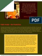 Baba Kalki Avatar (Cosmicharmony.com)