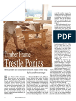 How to Make a Trestle Pony