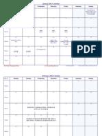 2012 Calendar UBK