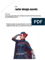 4 Top Character Design Secrets _ Character Design by Creative Bloq