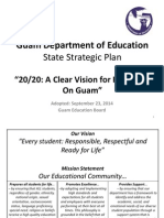 gdoe state strategic plan for education adopted september 23 2014