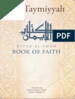 Kitab Al Iman - Ibn Taymiyyah