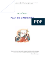 Plan de Marketing Para Un nuevo Negocio