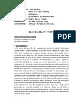 Sentencia-caso Fidel Flores Vásquez