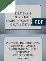 Proyecto Disena El Cambio Est136 15dst0146e 13-14