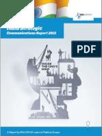 India Strategic Communications Report 2015