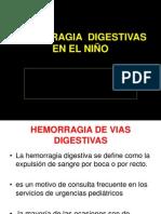 Clase Hemorragia Difestiva