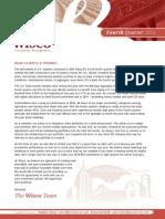 Wisco 4Q 2014 Newsletter