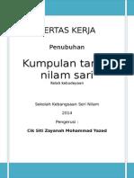 Kertas Kerja Tarian Yana 2014