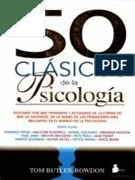 50 Clasicos de La Psicologia PDF