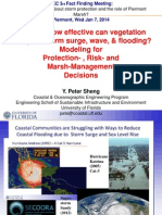 How, and How Effectively, can Vegetation Dissipate Storm Surge, Wave, and Flooding?