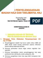 Regulasi Penyelenggaraan Ibadah Haji.ppt