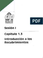 CAPITULO 1.3 Introduccion a Los Recubrimientos