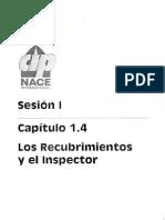 CAPITULO 1.4 Los Recubrimientos y El Inspector