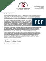 Superintendent Absence Letter 8 31 2010