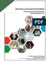 Laporan Monitoring Dan Evaluasi TR.iv (LPJ 2014) (A4)
