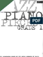 ABRSM - Jazz Piano Pieces Grade 1