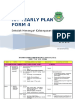 ICT Form 4_Yearly Plan 2010