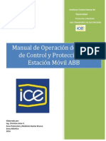 Manual de Operación Estacion de interruptores de gis.