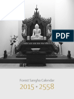 Buddhist calendar 2015