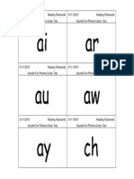 phonics word cards - multisyllabic words