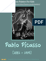Pablo Picasso - Famous Painters For Kids  – Mocomi.com