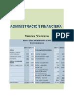 RAZONES FINANCIERAS 2