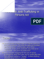 Person Trafficking