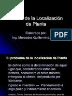 Teoría de La Localización de Planta