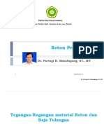 Materi Kuliah Ke 3 Review Beton Prategang Dr.partogi 2014