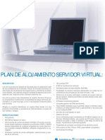 Plan de alojamiento servidor virtual