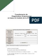 Cuestionario Para Diagnósticos Empresariales (word)