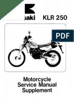 KLR250 1985-1997 Scannat supplement_99924-1051-08