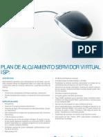 Plan de alojamiento servidor virtual-ISP