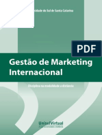 Gestão de Marketing Internacional