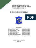Laporan Magang Kegiatan Orientasi Cpns Kota Surabaya Www Bento Co Nr1