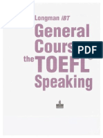 General Course for the TOEFL Speaking