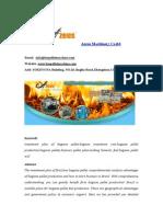 Investment Plan of Bagasse Pellet Fuel in Brazil