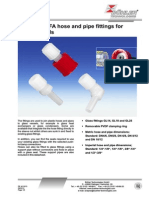 Hose and Pipe Fitting for Glass Vesals