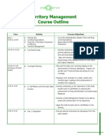 Territory Management Course Outline