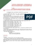 Corte Dei Conti Accertamento Di Eventuali Responsabilità Amministrative e Contabili a Norma Delle Leggi 14 Gennaio 1994 n94 e 639 20 Dic 1996