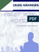 Engineering Graphics Notes - Akshansh