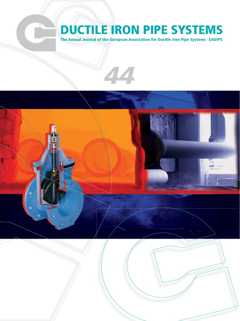ductile iron pipe systems annual journal of the European association ...