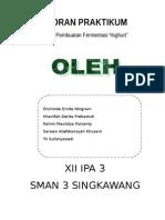 Laporan fermentasi pembuatan yoghurt.doc