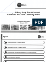 SH-HK Connect Enhanced Pre-Trade Checking